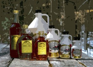 Almonte maple syrup products from Fortune Farms