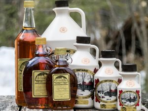 Almonte maple syrup from Fortune Farms