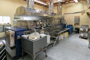 Maple syrup evaporator